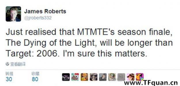 《MTMTE》线本季尾声的标题公布