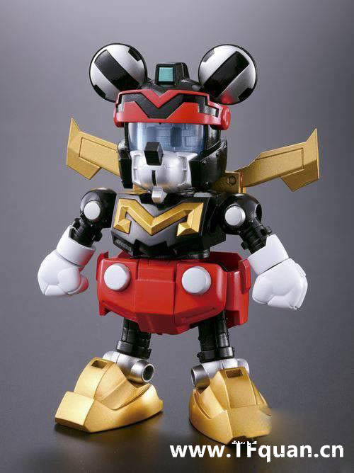 首款迪士尼变形合体机器人回顾 迪士尼 威利号 布鲁托 高飞 黛丝 唐纳 米奇 模玩  第4张