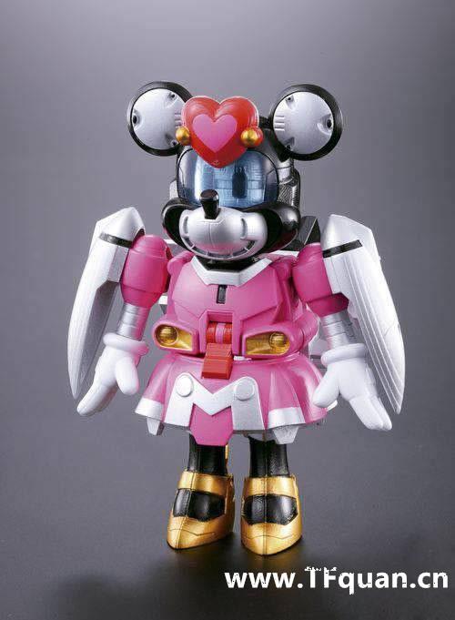 首款迪士尼变形合体机器人回顾 迪士尼 威利号 布鲁托 高飞 黛丝 唐纳 米奇 模玩  第5张