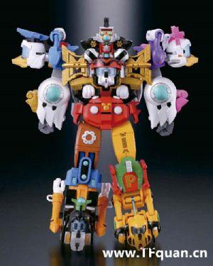 首款迪士尼变形合体机器人回顾