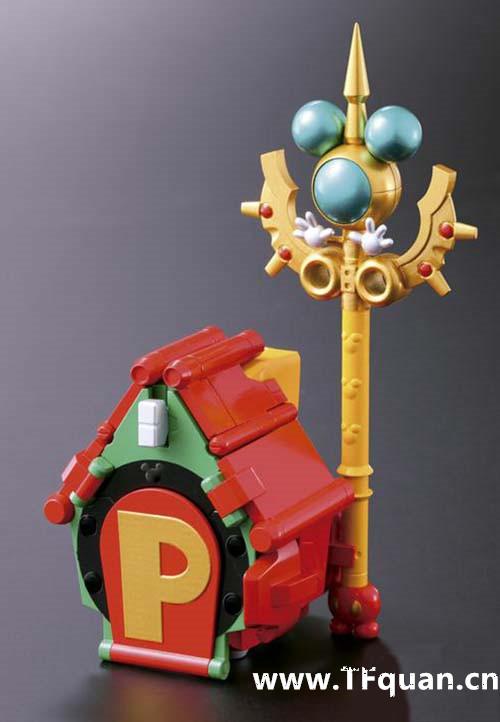 首款迪士尼变形合体机器人回顾 迪士尼 威利号 布鲁托 高飞 黛丝 唐纳 米奇 模玩  第10张