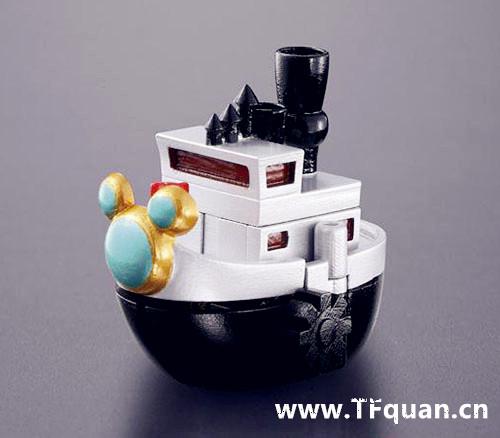 首款迪士尼变形合体机器人回顾 迪士尼 威利号 布鲁托 高飞 黛丝 唐纳 米奇 模玩  第11张