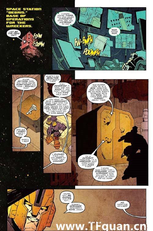 IDW变形金刚漫画《雷霆拯救队之罪》第一集 变形金刚 第6张