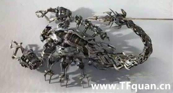 地下危险潜行者沙漠蝎原型设计图