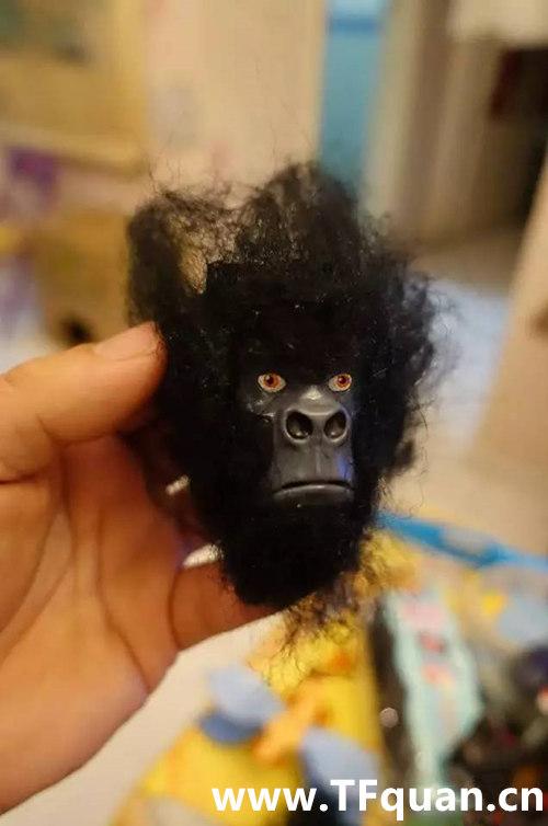迷友DIY—带毛的猩猩队长 赏析 第10张