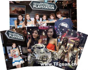 亚洲玩具展 看看各家展品和妹子们