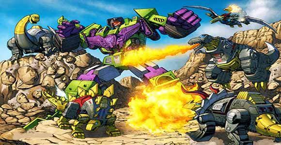恐龙战士们