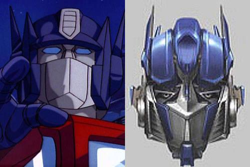 动画版VS真人版-主角变脸,你更喜欢那张脸 变形金刚漫谈 第1张