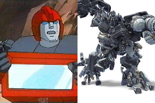 动画版VS真人版-主角变脸,你更喜欢那张脸 变形金刚漫谈 第3张
