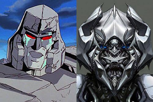 动画版VS真人版-主角变脸,你更喜欢那张脸 变形金刚漫谈 第6张