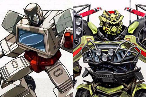动画版VS真人版-主角变脸,你更喜欢那张脸 变形金刚漫谈 第4张
