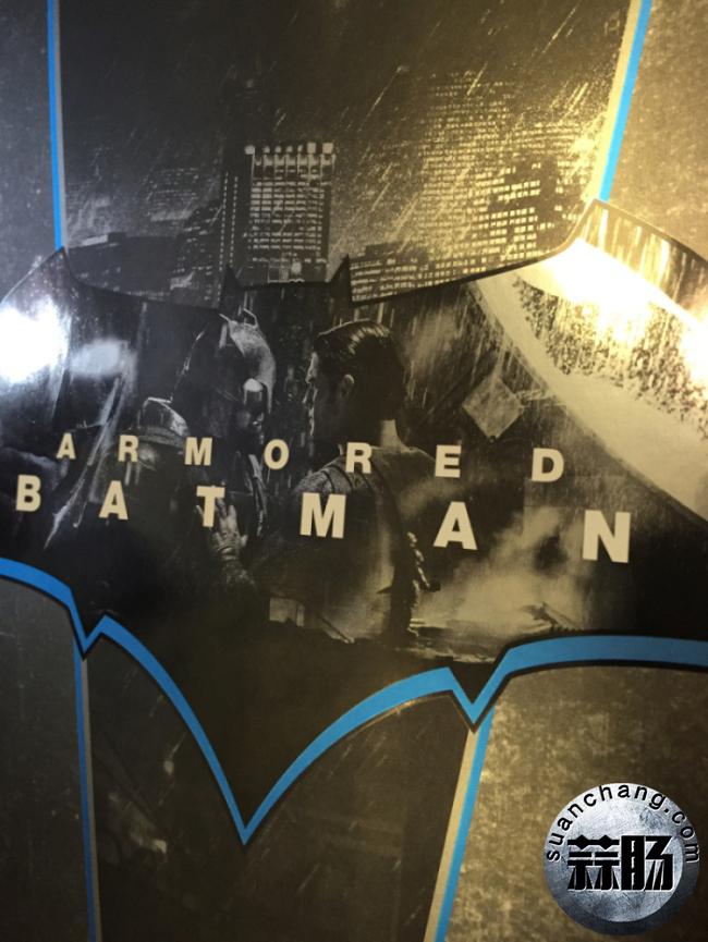 评测分享——HT《蝙蝠侠大战超人》-重甲版 蝙蝠侠 模玩 第2张