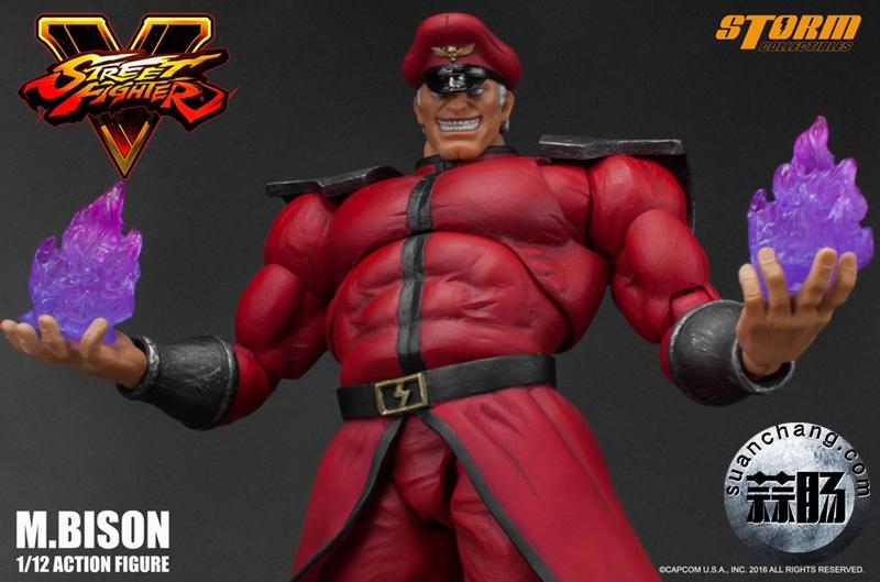 Storm Toys新品街头霸王5 BOSS - M. Bison拜森
