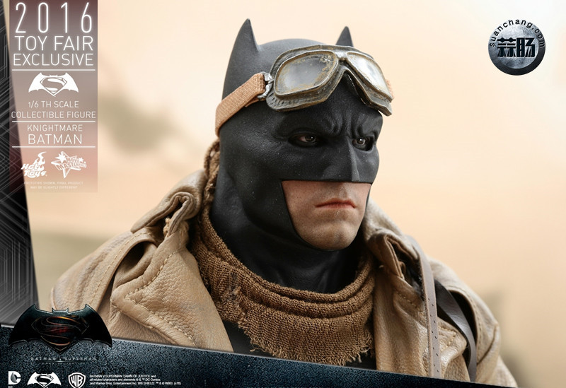 Hottoys 新品:《蝙蝠侠大战超人》蝙蝠侠 Knightmare噩梦版【会场限定】