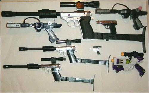 迷友科普分享——威震天的枪型的由来
