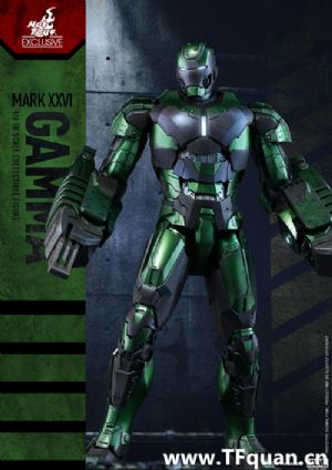 Hottoys新品 MMS332《钢铁侠3》 -钢铁侠MK26 伽玛 Gamma 限定版