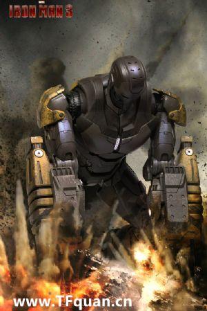 Hottoys 《钢铁侠3》- 钢铁侠MK25 - 突袭者 Striker