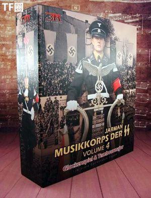 """""""军中乐者4"""" 二战德国党卫队日耳曼尼亚团军乐队下士 钟琴手OR指挥"""