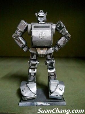 金属拼装大黄蜂模型