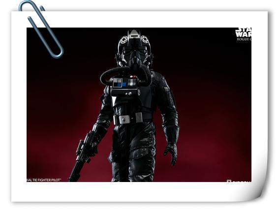 Sideshow新品——《侠盗一号 星球大战外传》- 钛战机驾驶员