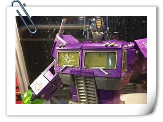 台北玩具展 众多MP系列玩具现场展出