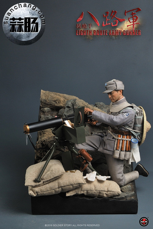 Soldier Story推出一款1:6 WWII - 八路军机枪手 模玩 第5张