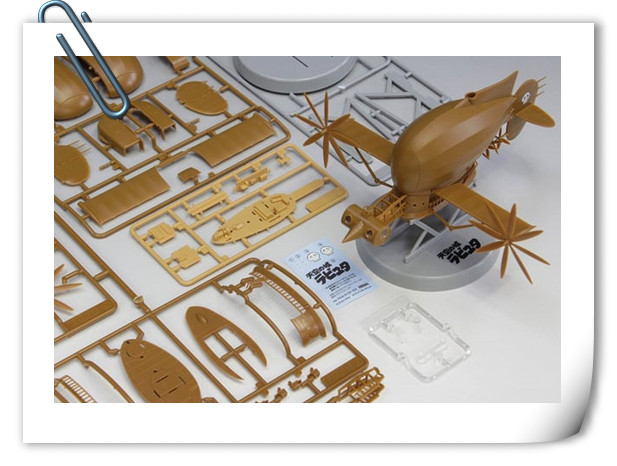 Fine Molds将推出宫崎骏《天空之城》 虎蛾号飞行船