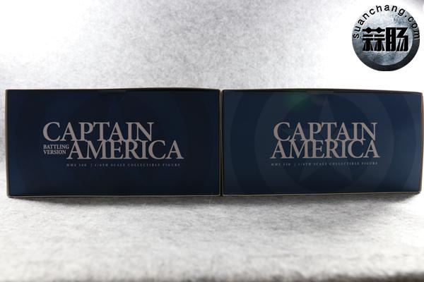 HT内战版美国队长——会场版&普通版对比开箱分享 普通版 会场版 美国队长 内战版 HT 模玩  第7张