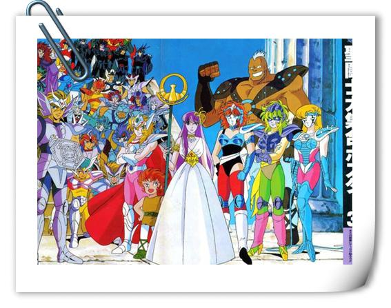 吧友分享——【东映发行】圣斗士星矢TV原设资料