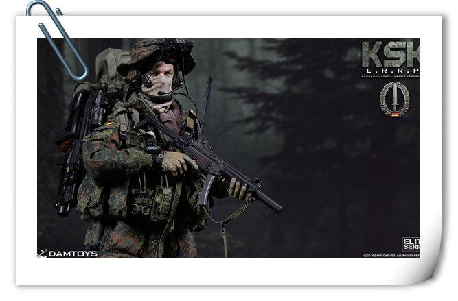 DAMTOYS 新品——德国 KSK 特种部队 - LRRP