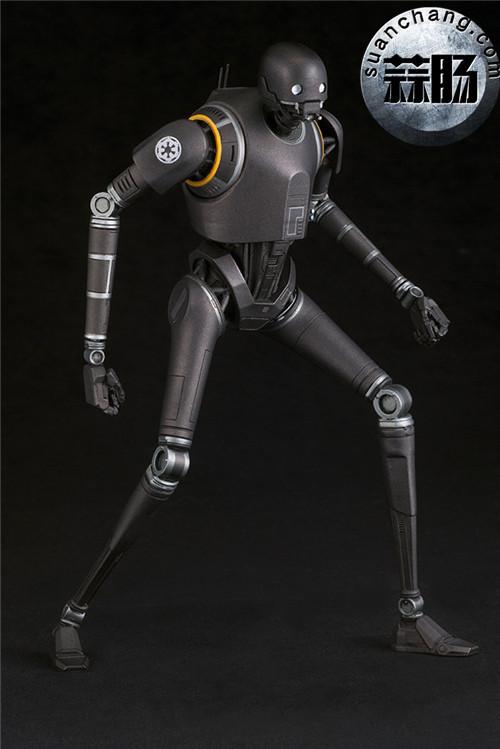 寿屋:1/10《侠盗一号:星球大战外传》K-2SO 安保机器人 ARTFX雕像 模玩 第2张