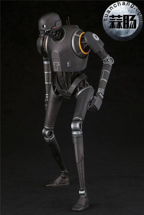 寿屋:1/10《侠盗一号:星球大战外传》K-2SO 安保机器人 ARTFX雕像 模玩 第5张