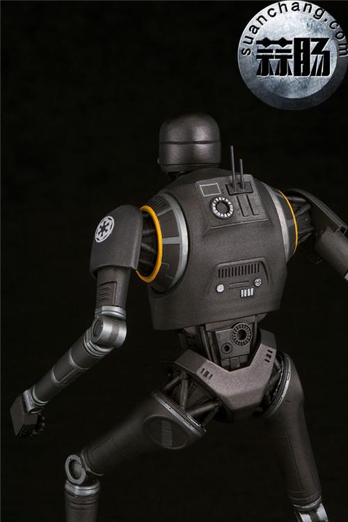 寿屋:1/10《侠盗一号:星球大战外传》K-2SO 安保机器人 ARTFX雕像 模玩 第7张