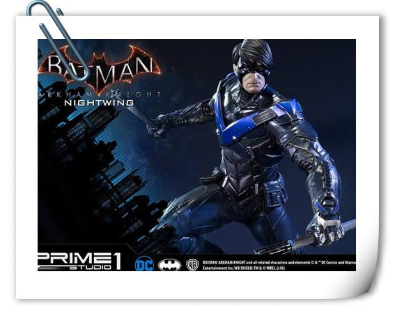 Prime 1 Studio 蝙蝠侠:阿卡姆骑士 夜翼 全身雕像