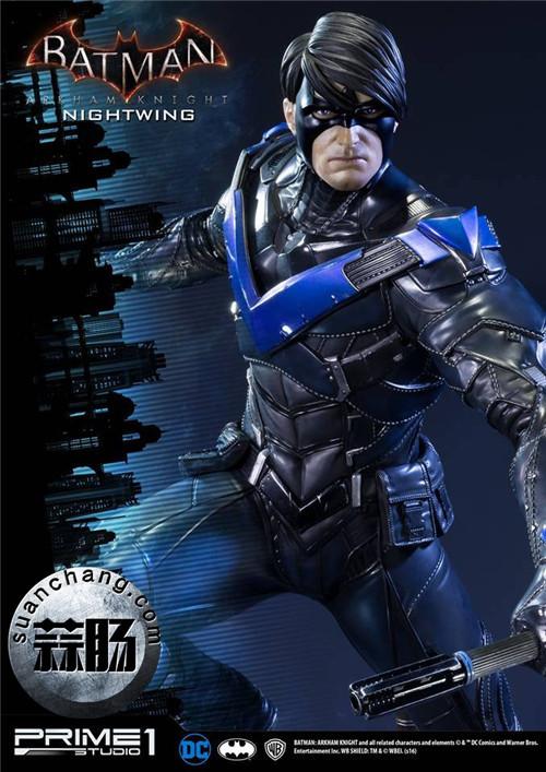 Prime 1 Studio 蝙蝠侠:阿卡姆骑士 夜翼 全身雕像 模玩 第2张