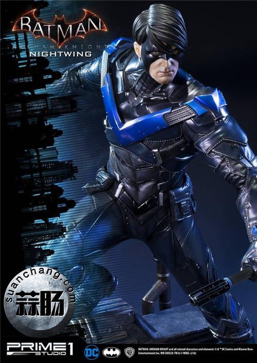 Prime 1 Studio 蝙蝠侠:阿卡姆骑士 夜翼 全身雕像 模玩 第4张