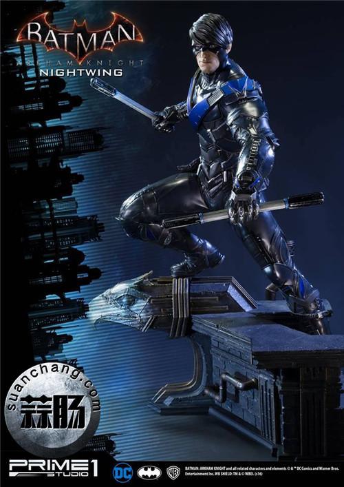 Prime 1 Studio 蝙蝠侠:阿卡姆骑士 夜翼 全身雕像 模玩 第5张