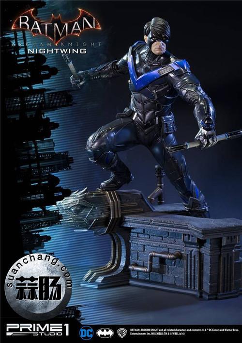 Prime 1 Studio 蝙蝠侠:阿卡姆骑士 夜翼 全身雕像 模玩 第7张