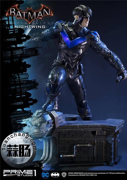 Prime 1 Studio 蝙蝠侠:阿卡姆骑士 夜翼 全身雕像 模玩 第9张
