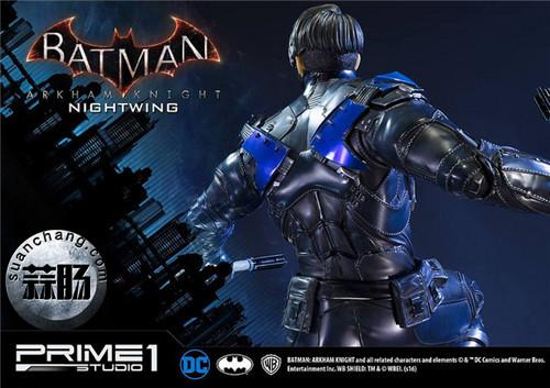 Prime 1 Studio 蝙蝠侠:阿卡姆骑士 夜翼 全身雕像 模玩 第10张