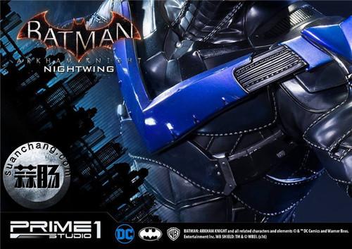Prime 1 Studio 蝙蝠侠:阿卡姆骑士 夜翼 全身雕像 模玩 第12张