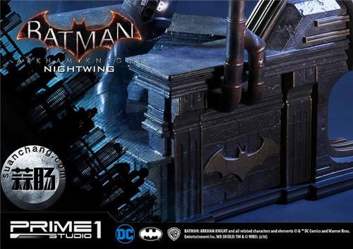 Prime 1 Studio 蝙蝠侠:阿卡姆骑士 夜翼 全身雕像 模玩 第13张