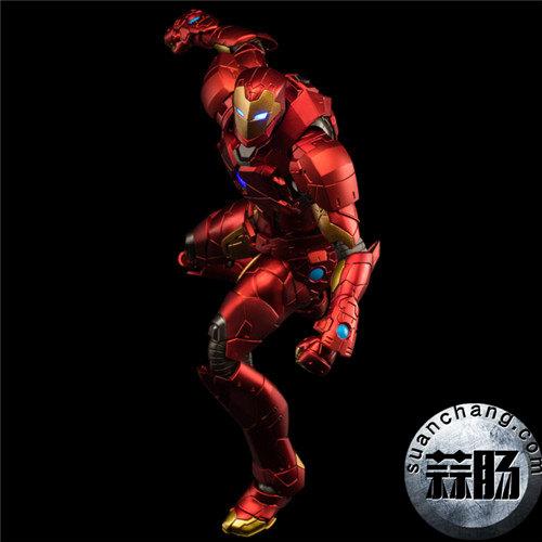 千值练 钢铁侠 RE:edit 第8弹 瞬变装甲 模玩 第4张