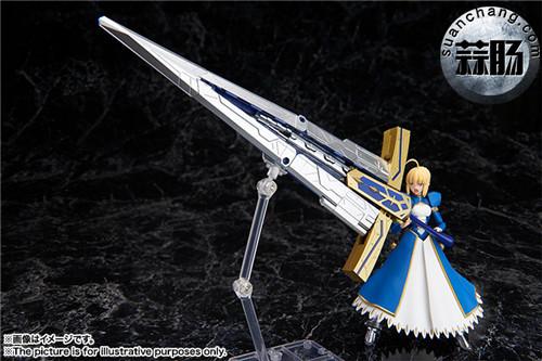 BANDAI AGP系列 Saber 变幻誓约胜利之剑 模玩 第3张