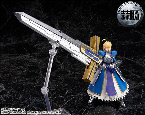 BANDAI AGP系列 Saber 变幻誓约胜利之剑 模玩 第4张