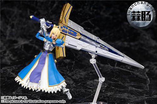 BANDAI AGP系列 Saber 变幻誓约胜利之剑 模玩 第5张