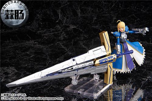 BANDAI AGP系列 Saber 变幻誓约胜利之剑 模玩 第7张