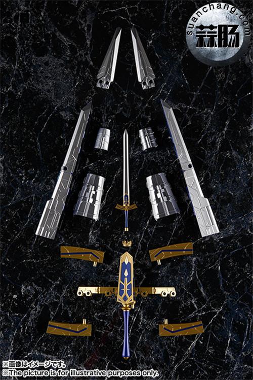 BANDAI AGP系列 Saber 变幻誓约胜利之剑 模玩 第11张