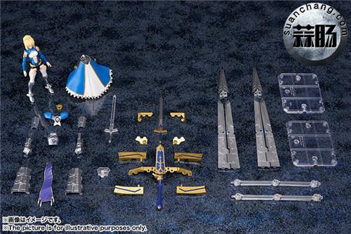BANDAI AGP系列 Saber 变幻誓约胜利之剑 模玩 第15张