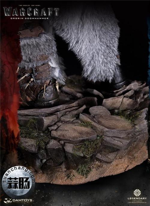 DAMTOYS新品: 史诗系列 《魔兽》- 奥格瑞姆 28寸精致雕像 动态 第8张